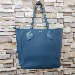 Anne Klein Satchel Tote Blue purse bag